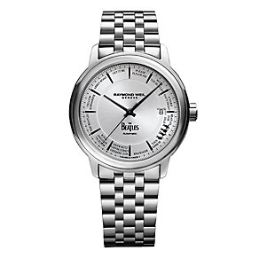 Raymond Weil Men's Stainless Steel Beatles Strap Watch - Product number 5007771