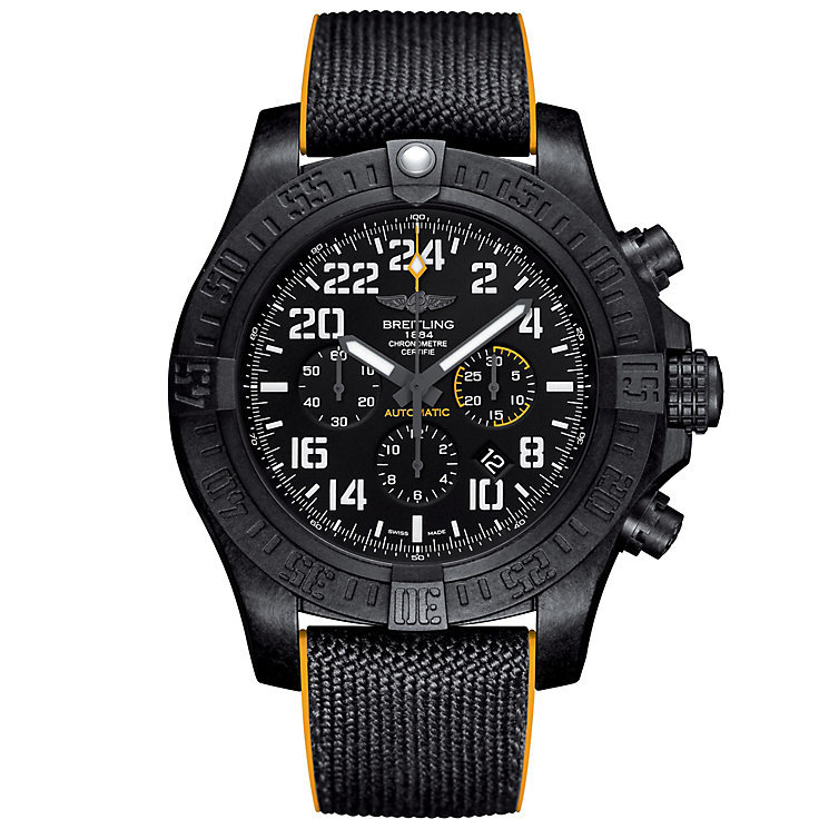 Breitling Avenger Men's Ion Plated Strap Watch - Product number 5008123