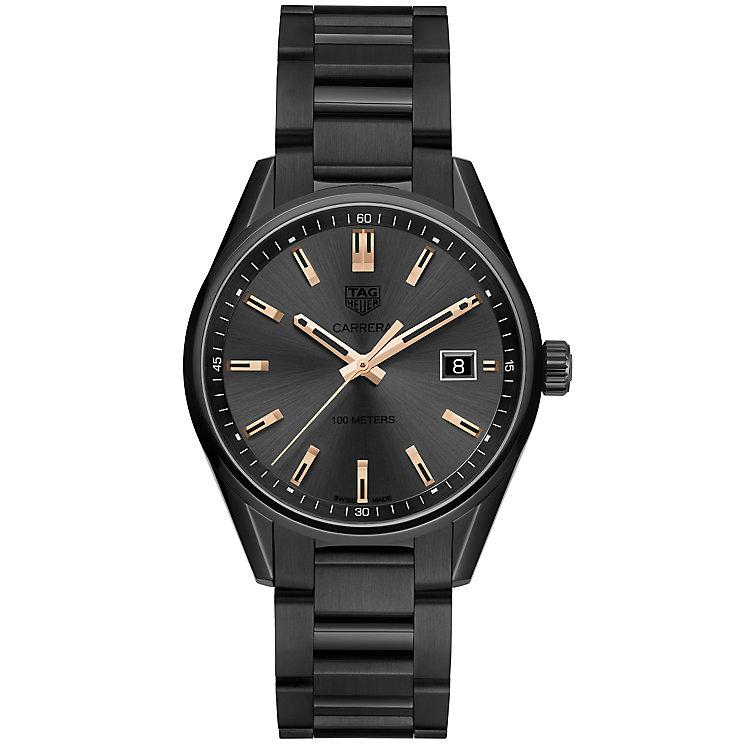 TAG Heuer Carrera Ladies' Ion Plated Bracelet Watch