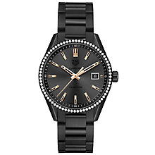 TAG Heuer Carrera Ladies' Ion Plated Bracelet Watch - Product number 5008735