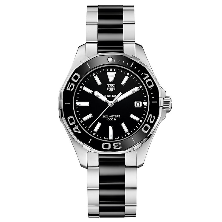 TAG Heuer Aquaracer Ladies' Stainless Steel Bracelet Watch - Product number 5008751