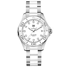 TAG Heuer Aquaracer Ladies' Two Colour Bracelet Watch - Product number 5008794