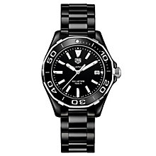 TAG Heuer Aquaracer Ladies' Ion Plated Bracelet Watch - Product number 5008824