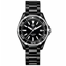 TAG Heuer Aquaracer Ladies' Stainless Steel Bracelet Watch - Product number 5008840