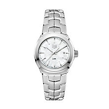 TAG Heuer Link Ladies' Stainless Steel Bracelet Watch - Product number 5008867