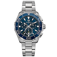 TAG Heuer Aquaracer Men's Stainless Steel Strap Watch - Product number 5009014