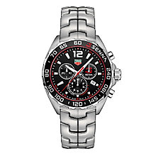 TAG Heuer F1 Senna Men's Stainless Steel Bracelet Watch - Product number 5009146
