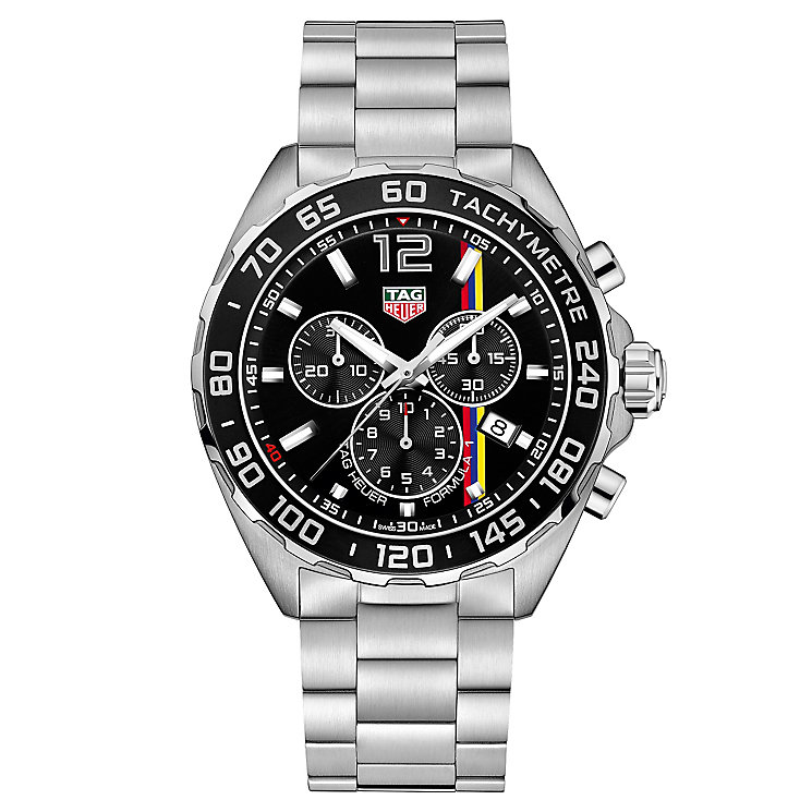 TAG Heuer F1 Men's Stainless Steel Bracelet Watch - Product number 5009154