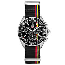 TAG Heuer F1 Men's Stainless Steel Strap Watch - Product number 5009359