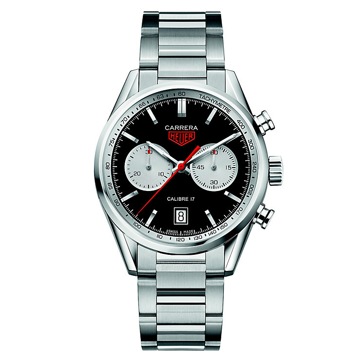 TAG Heuer Carrera Men's Stainless Steel Bracelet Watch - Product number 5009391