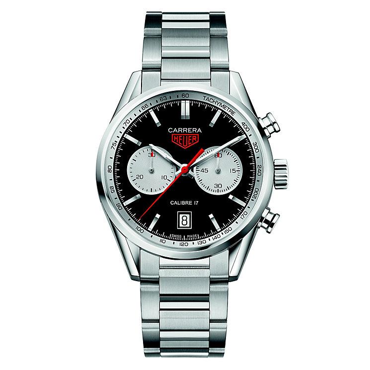 TAG Heuer Carrera Men's Stainless Steel Bracelet Watch