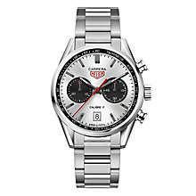 TAG Heuer Carrera Men's Stainless Steel Bracelet Watch - Product number 5009413