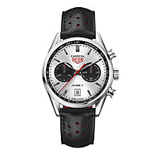 TAG Heuer Carrera Men's Stainless Steel Strap Watch - Product number 5009421