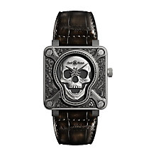 Bell & Ross BR 01 Burning Skull Men's Strap Watch - Product number 5009839