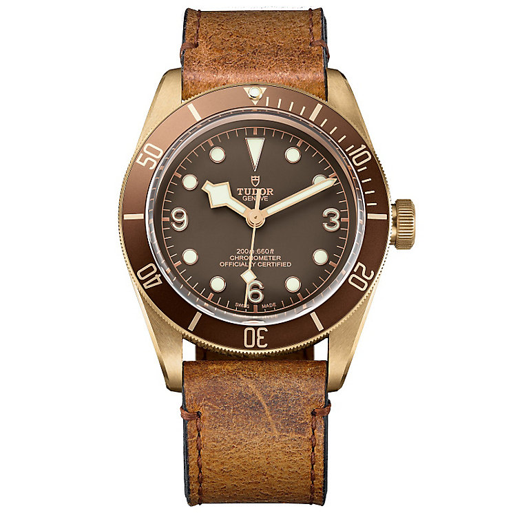 Tudor Men's Bronze Strap Watch - Product number 5011205
