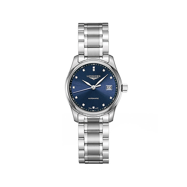Longines Master Ladies' Stainless Steel Bracelet Watch - Product number 5011361