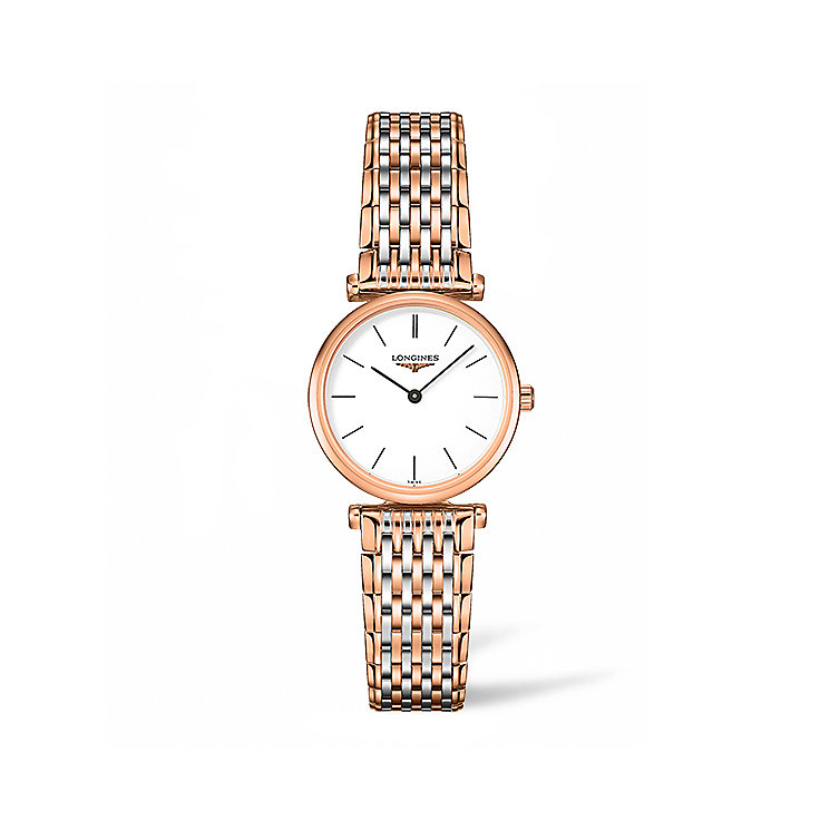 Longines Ladies' Two Colour Bracelet Watch - Product number 5011388