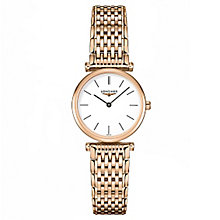 Longines La Grande Clasique Ladies' Rose Gold Plated Watch - Product number 5011396