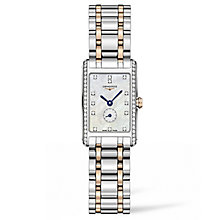 Longines DolceVita Ladies' Two Colour Bracelet Watch - Product number 5011442