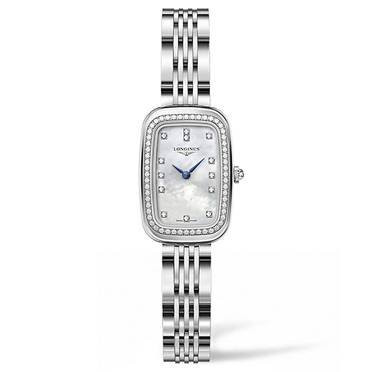 Longines Equestrian Ladies' Stainless Steel Bracelet Watch - Product number 5011469