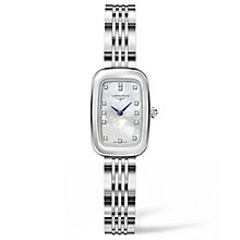 Longines Equestrian Ladies' Stainless Steel Bracelet Watch - Product number 5011485