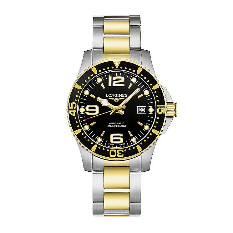 Longines HydroConquest Men's Two Colour Bracelet Watch - Product number 5011515