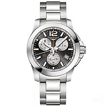 Longines Men's Stainless Steel Bracelet Watch - Product number 5011671