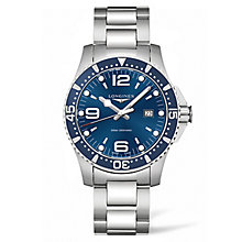 Longines Hydroconquest Men's Stainless Steel Bracelet Watch - Product number 5011779