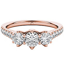 The Diamond Story 18ct Rose Gold 1ct  Diamond Ring - Product number 5015081