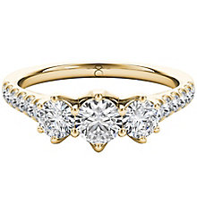 The Diamond Story 18ct Yellow Gold 1ct HI I1 Diamond Ring - Product number 5015227