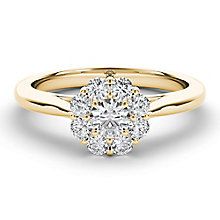 The Diamond Story 18ct Yellow Gold 0.50ct Diamond Ring - Product number 5016886