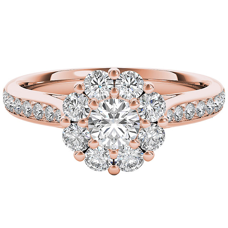 The Diamond Story 18ct Rose Gold 1ct Diamond  Ring - Product number 5017793
