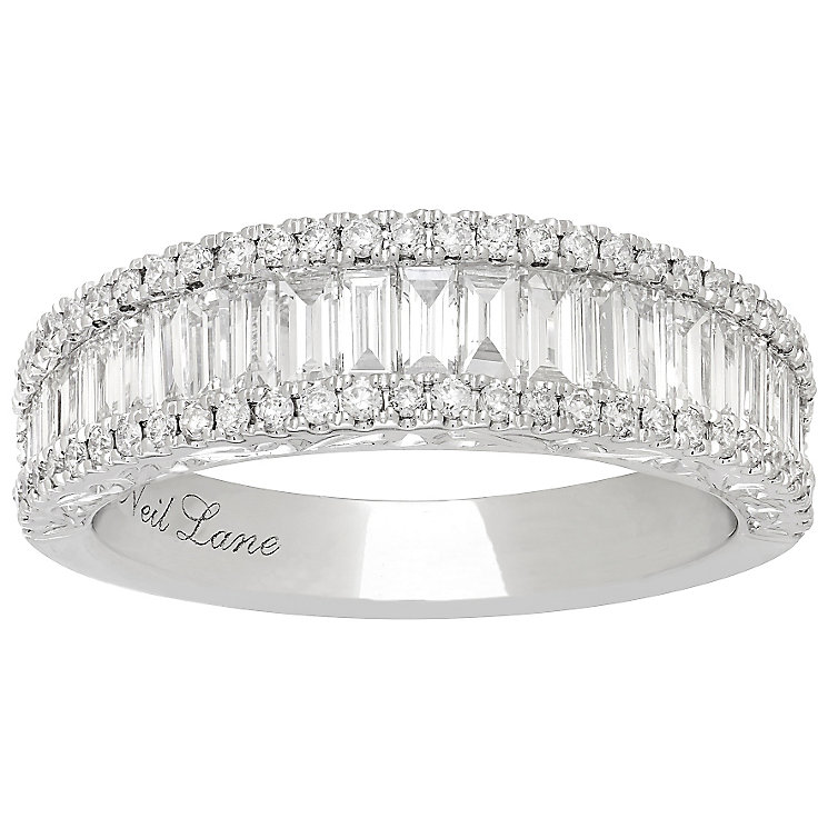 Neil Lane Platinum 1.15ct 3 Row band - Product number 5022177