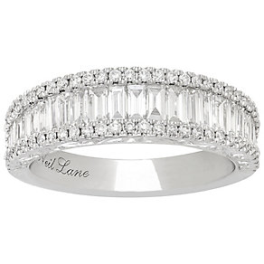 Neil Lane Platinum 1.15ct 3 Row Ring - Product number 5022177