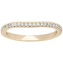 Neil Lane 14ct Yellow Gold 20Pt Diamond Shaped Band - Product number 5022304
