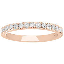Neil Lane 14ct Rose Gold 0.42ct Diamond Wedding Ring - Product number 5023769