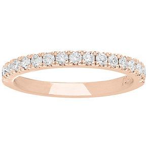 Neil Lane 14ct Rose Gold 0.42ct Diamond Wedding Ring - Product number 5023769