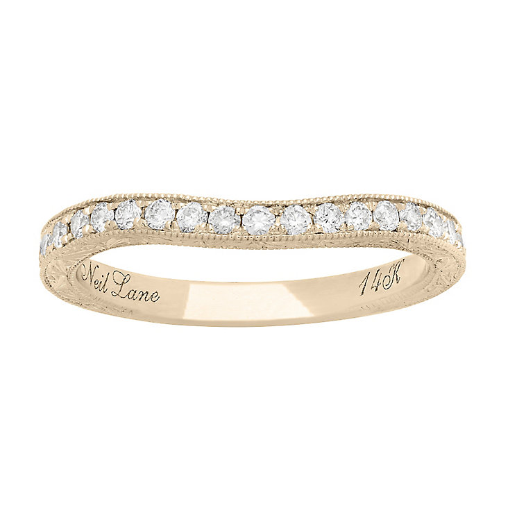 Neil Lane 14ct Yellow Gold 0.30ct Diamond Wedding band - Product number 5024471