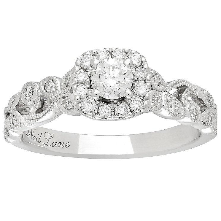 Neil Lane Platinum 0.54ct Diamond Vine Ring - Product number 5025176