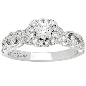 Neil Lane Platinum 0.54ct Diamond Vine Ring - Product number 5025176