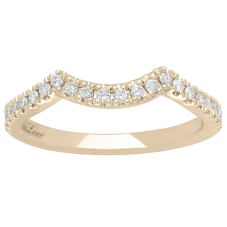 Neil Lane 14ct Yellow Gold 1/5ct Wedding Band band - Product number 5027144