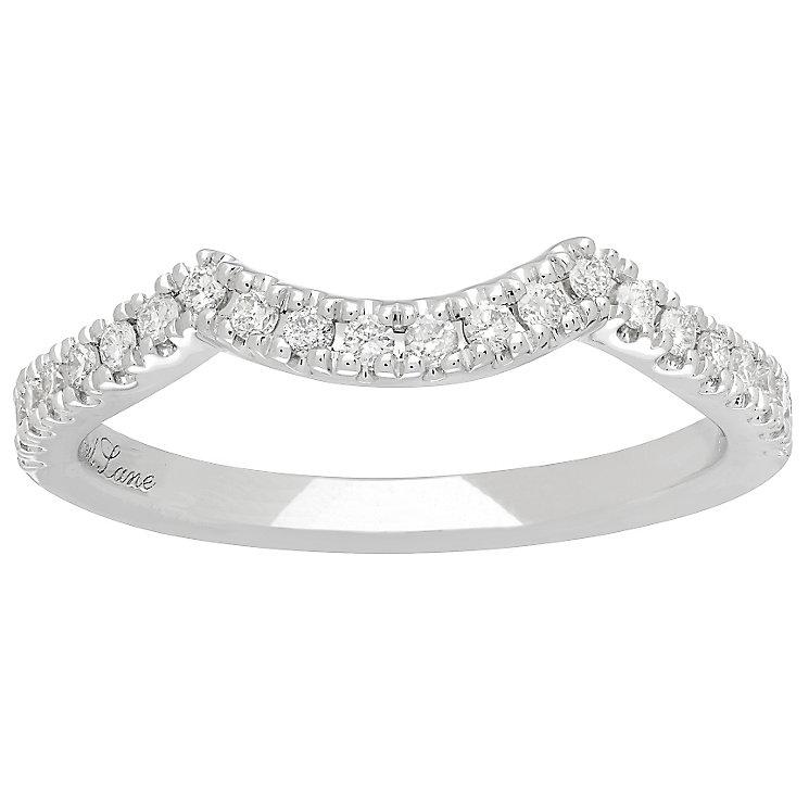 Neil Lane Platinum 1/5ct Wedding Band Ring - Product number 5028159