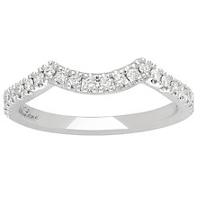 Neil Lane Platinum 1/5ct Wedding Band Ring - Product number 5028159