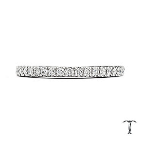 Tolkowsky Platinum 0.25ct Diamond Wedding Ring - Product number 5033683