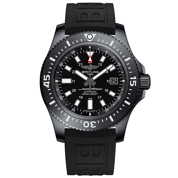 Breitling Superocean 44 Men's Stainless Steel Strap Watch