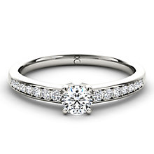 The Diamond Story Platinum 2/3 carat diamond ring - Product number 5045452