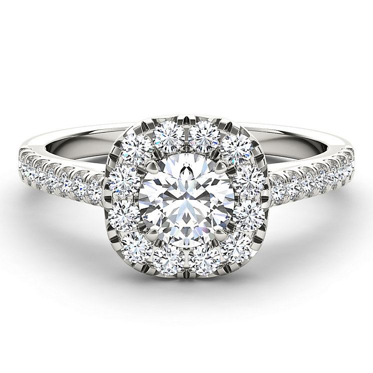 The Diamond Story Platinum 1 carat diamond ring - Product number 5045843