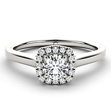 The Diamond Story Platinum 1/3 carat diamond ring - Product number 5046025