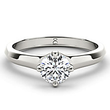 The Diamond Story Platinum 0.25ct diamond ring - Product number 5046173