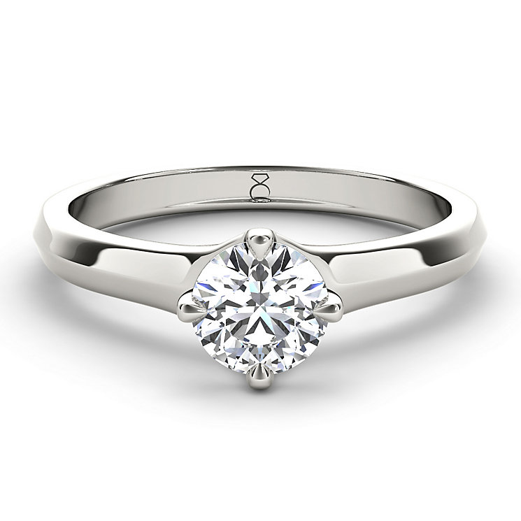 The Diamond Story Platinum 0.50ct diamond ring - Product number 5046467